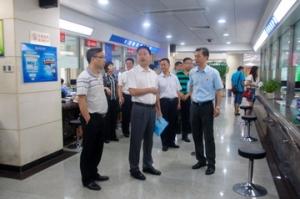 肇庆市领导到行政服务中心调研一门式一网式政府服务模式改革工作